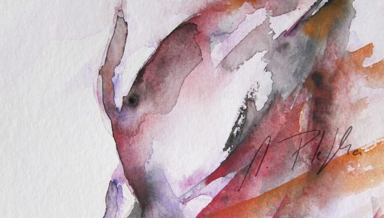 Aquarell Detail